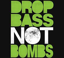 Drop Bass Not Bombs (Pt. II) [neon green] Unisex T-Shirt