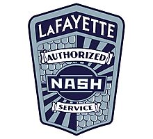 Vintage Nash LaFayette Service Sign Reproduction Photographic Print