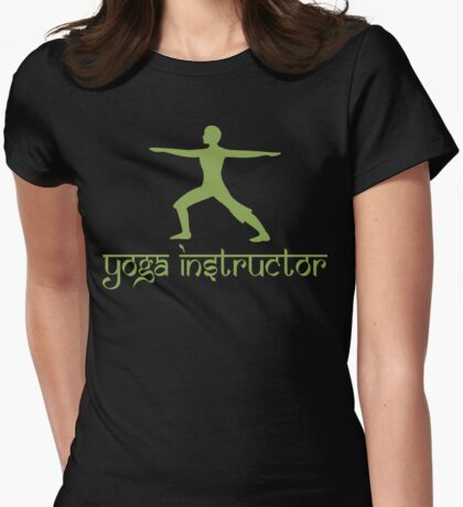 Yoga Instructor T-Shirt Womens Fitted T-Shirt