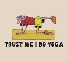 Funny Men's Yoga T-Shirt by T-ShirtsGifts