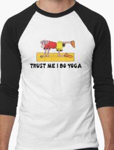 Funny Men's Yoga T-Shirt Men's Baseball ¾ T-Shirt