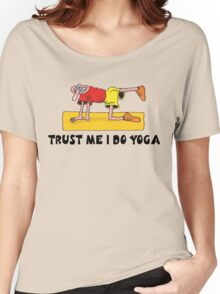 Funny Men's Yoga T-Shirt Women's Relaxed Fit T-Shirt