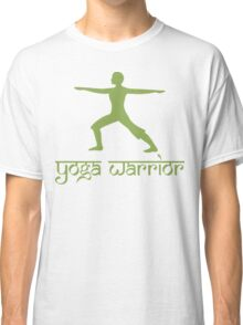 Warrior Pose Yoga T-Shirt Classic T-Shirt