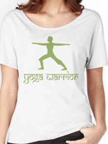 Warrior Pose Yoga T-Shirt Women's Relaxed Fit T-Shirt
