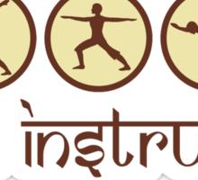 Yoga Instructor T-Shirt Sticker