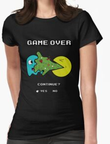 Game over   Indigestion Womens Fitted T-Shirt