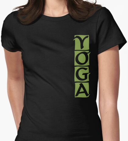 Yoga T-Shirt Womens Fitted T-Shirt