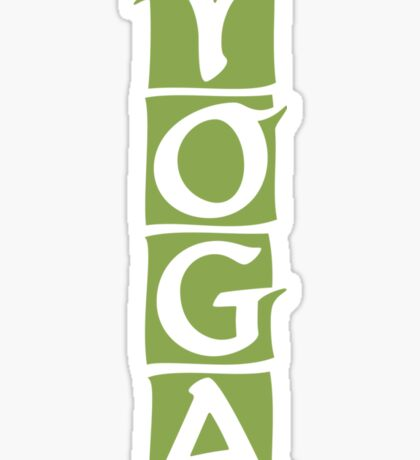 Yoga T-Shirt Sticker