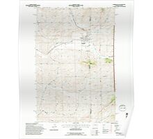 USGS Topo Map Washington State WA Farmington 241129 1994 24000 Poster