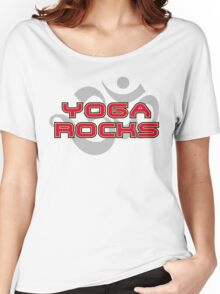 Yoga Rocks T-Shirt Women's Relaxed Fit T-Shirt
