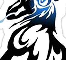 energy ball lucario Sticker