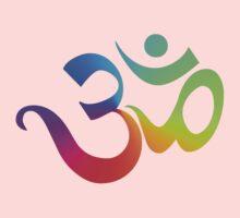 Yoga Om Symbol T-Shirt Kids Clothes
