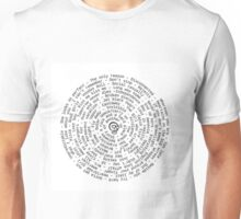 UPDATED 5sos spiral with SKULL LOGO Unisex T-Shirt