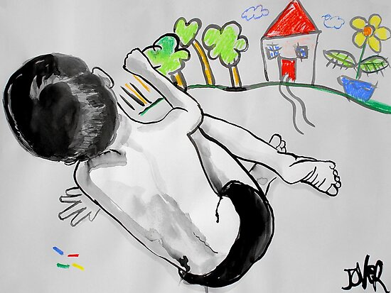 as a child i drew by Loui  Jover
