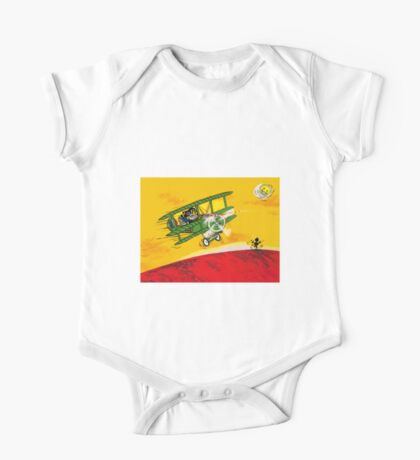 SOPWITHCAMEL AIRPLANE  One Piece - Short Sleeve