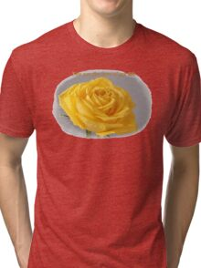 Yellow Rose Love Card and Gifts Tri-blend T-Shirt