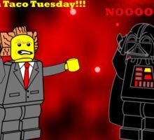 Taco Tuesday  2.0 Sticker
