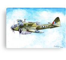 Beaufort Bomber Canvas Print