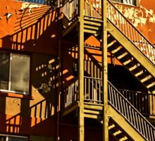 Urban shadows Sticker