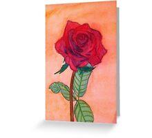 Rose of Love Greeting Card