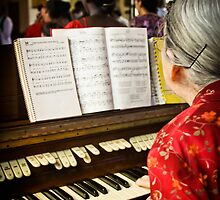 June the Organist by MeganRizzoPhoto