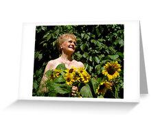 Girls at Heart, August ~ Winn Greeting Card