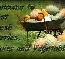 Best Fresh Berries, Fruit and Vegetables by myraj