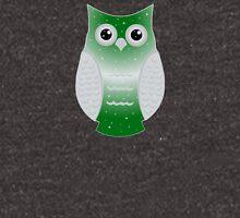 Green Snow Owl Unisex T-Shirt