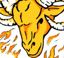 Aries The Ram Sticker