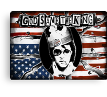 God Save The King Canvas Print