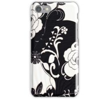 Cascading flowers iPhone Case/Skin