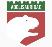 Dinosaur Family Crest: Abelisauridae by David Orr