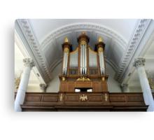 Pipe Organ of The Church of St. Mary the Virgin, Aldermanbury Canvas Print