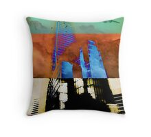 Subdivisions Throw Pillow