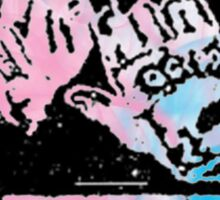 Against Me! hands-Trans Pride Sticker