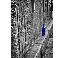 The Lonely Bottle Photographic Print