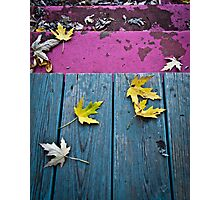 The Colorful Porch Photographic Print