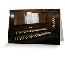 Amazing Grace, How Sweet the Sound Greeting Card