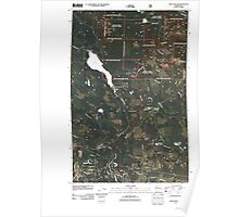 USGS Topo Map Washington State WA Lake Chaplain 20110428 TM Poster