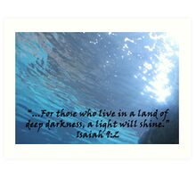 """Isaiah 9:2""  by Carter L. Shepard Art Print"