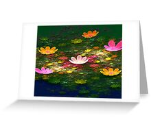 Colours of Spring Greeting Card