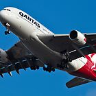 Qantas Airbus A380 by Chris Westinghouse
