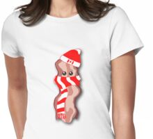 Canadian Bacon, eh? Womens Fitted T-Shirt