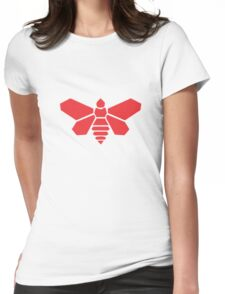 Breaking bad bee barrel Womens Fitted T-Shirt