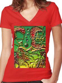 DIZZZ & GETZZZ2 Women's Fitted V-Neck T-Shirt