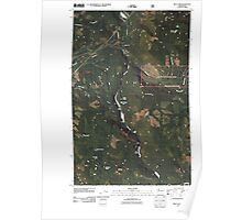 USGS Topo Map Washington State WA Riley Lake 20110425 TM Poster