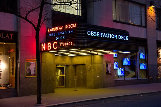 NBC 30 Rockefeller Center - Observation Deck by jeffreynelsd