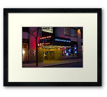NBC 30 Rockefeller Center - Observation Deck Framed Print