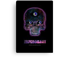Psychonaut Galaxy Skull Canvas Print