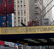 Hotel Pennsylvania in New York by jeffreynelsd